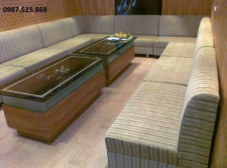 Sofa karaoke hcm mang đến không gian sang trọng, lịch sự