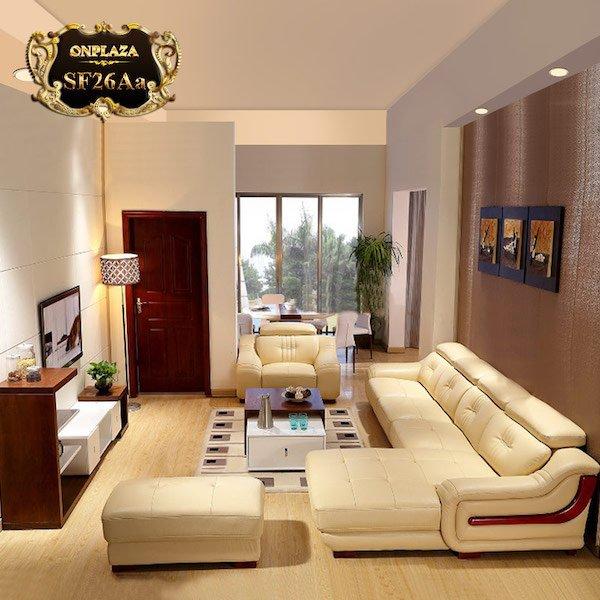 Lý do nên chọn sofa gỗ chữ L cho không gian sống