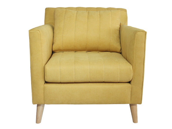 Sofa đơn lựa chọn hoàn hảo cho phòng khách căn hộ